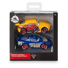 ディズニー・ピクサー カーズ  クロスロード CARS3 1/43   2PC  Cruz Ramirez & Fabulous Lightning McQuee