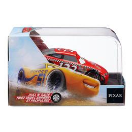 ディズニー・ピクサー カーズ   CARS 1/43  Pull 'N' Race Die Cast Car   Todd ''The Shockster'' Marcus
