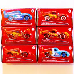 ディズニー・ピクサー カーズ マテル キャラクターカー ライトニング・マックーン パズルボックス6種セット シリーズ2  LIGHTNING McQUEEN PUZZLE BOX  Set of 6