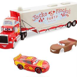 """ディズニー・ピクサー カーズ クロスロード Disney Store 1/43  Mack """"Jocko Flocko""""Launcher"""