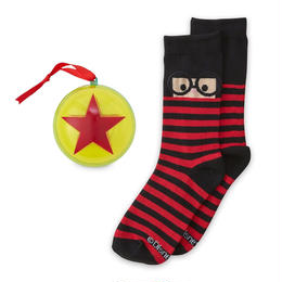「インクレディブル・ファミリー」 Pixar Ballのオーナメントに入ったエドナ・モードのソックス