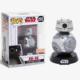 【大特価】ファンコ ポップ Funko POP! スターウォーズ 限定 クロム版 BB-9E   Star Wars  The Last Jedi Chrome BB-9E