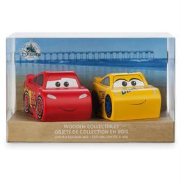 カーズ クロスロード  400セット限定 マックイーン & クルーズ 「こけし」セット CARS3 Wooden Collectibles
