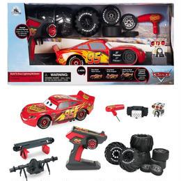 カーズ  ライトニング・マックイーン ラジコンカー Disney Store CARS Build to Race Lightning McQueen  RC CAR