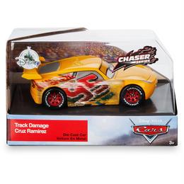 ディズニー・ピクサー カーズ  クロスロード CARS3 1/43  Track Damage Cruz Ramirez 【CHASE】
