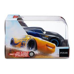 ディズニー・ピクサー カーズ   CARS 1/43  Pull 'N' Race Die Cast Car Jackson Storm