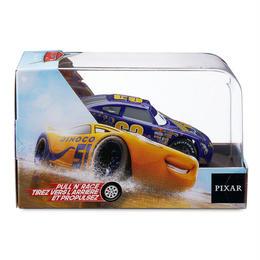 ディズニー・ピクサー カーズ   CARS 1/43  Pull 'N' Race Die Cast Car   Lee Revkins