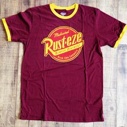 『カーズ』  ショップ限定 メンズ リンガーTシャツ Disney Pixar Cars Rusteze Ringer T-Shirt