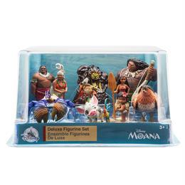 『モアナと伝説の海』  ミニフィギュア 10体セット Moana Deluxe Figure Play Set