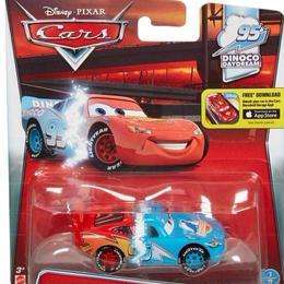 ディズニー・ピクサー カーズ  2016 マテル キャラクターカー トランスフォーミング・ライトニング・マックイーンTransforming Lightning McQueen