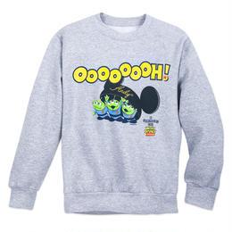 """トイストーリー  Disney Praks限定 エイリアン""""OooooooH!""""スエットシャツ"""