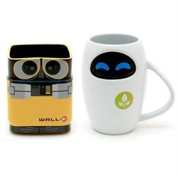 ウォーリー/WALL-E   ウォーリーとイヴ  マグカップ セット WALL-E & EVE Mug Cup Set