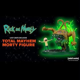 『リック アンド モーティ』 Rick and Morty 限定フィギュア Morty Monster Mayhem