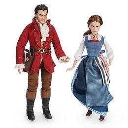 映画『美女と野獣』 ベル  & ガストン フィルム・コレクション・ドール セットBelle & Gaston Film Collection Doll Set