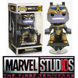 ファンコ ポップ  「サノス ウィズ スローン」 FUNKO MARVEL STUDIOS THE FIRST 10 YEARS POP! THANOS WITH THRONE