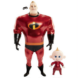 インクレディブル・ファミリー 12インチ フィギュア ミスター・インクレディブル&ジャック・ジャック The Incredibles 2   Mr.Incredible & Jack Jack
