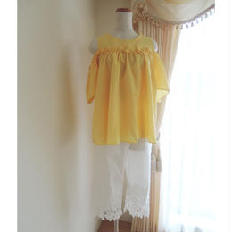 フリルyellow tops
