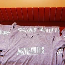 """JUSTINECOFFEES"" original  TEE"