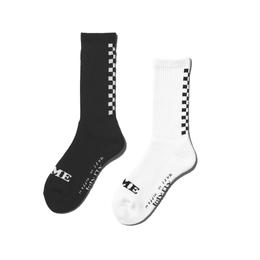 BACK CHECKER SOCKS (RUTSUBO×I&ME)