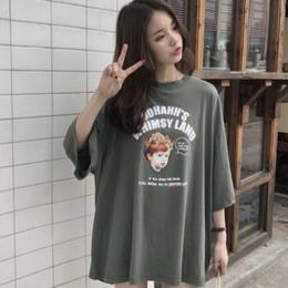 【即配】レトロプリントTシャツ
