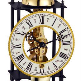 ヘルムレ 時打ち置時計(14日巻き)ゴールド/ブラック 23003-000711