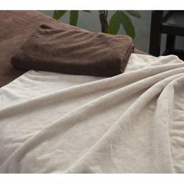 ECOパイル地特大タオルシーツ 110x220cm 【選べる5色】