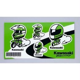カワサキヘルメットレーサーステッカー(J70100148)