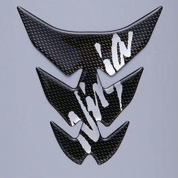カワサキタンクパッド (カーボン調) Ninja(J2007-0038)