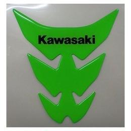 カワサキタンクパッド (ライムグリーン) Kawasaki(J2007-0039)