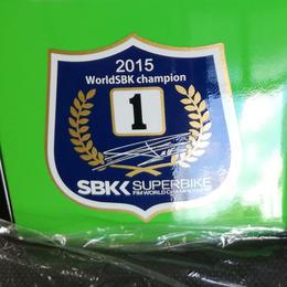 スーパーバイク世界選手権チャンピオンデカールステッカー(Z125Pro  KRT Edition用)