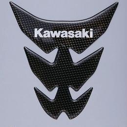 カワサキタンクパッド (カーボン調) Kawasaki (J2007-0037)