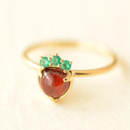 ichigo ring!! size12 (K18YG)