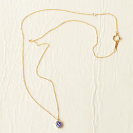 Tanzanite Necklace (K18)