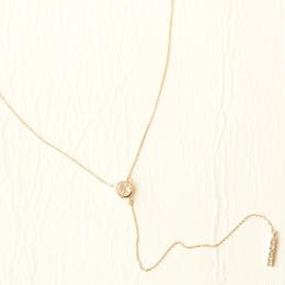White Topaz Necklace (K10)