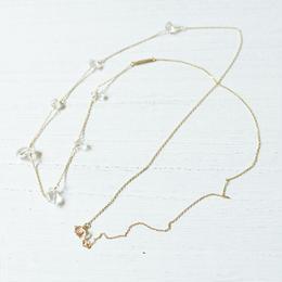 Herkimer Diamond long necklace(shirshi)