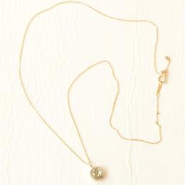 Green quartz Necklace (K10)