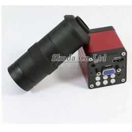 13mp hdmi vga HD業界 ビデオ顕微鏡カメラ デジタルビデオカメラ 顕微鏡  ビデオ出力 マウントカメラレンズ
