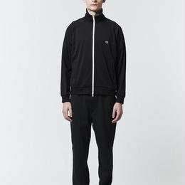フレッドペリー F2545 07 BACK EMBROIDERY TRACK JACKET BLACK