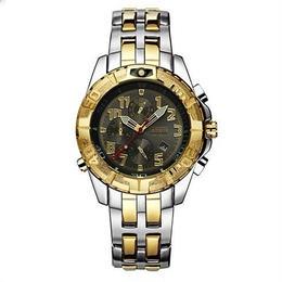 メンズ腕時計 クォーツ クロノグラフ 海外トップブランド TEMEITE ステンレススチール スポーツ 防水