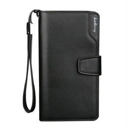 メンズ財布 海外ブランド baellerry レザーウォレット ハイクオリティ パスポートカバー
