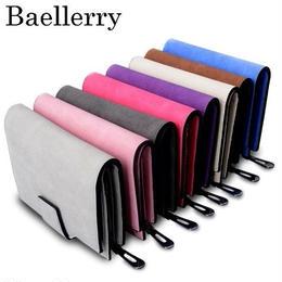 レディース二つ折り財布 海外ハイブランド baellerry レザー 革財布 コンパクトウォレット 高品質 カードホルダー