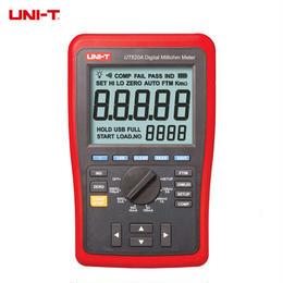 【新品】UT620Aデジタルマイクロオームメータ 抵抗メータ 上限/下限アラームおよびバックライト付 マイクロオームメータ