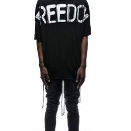 自由を謳ったTシャツ オーバーサイス ビッグT