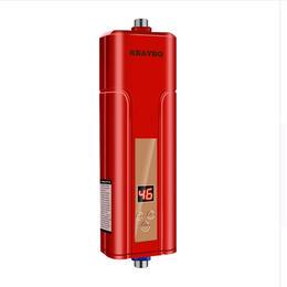 5500W 瞬間湯沸かし器 電気温水器 給湯器電気シャワー キッチン 浴室 シャワー 【新品☆2色からお選びください☆】