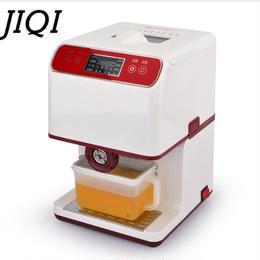JIQI 油絞り器 電動油しぼり機 搾油機 卓上型 ミニ家庭用 オイルプレス機 種ピーナッツ 油押え 自動電動 オイル搾油