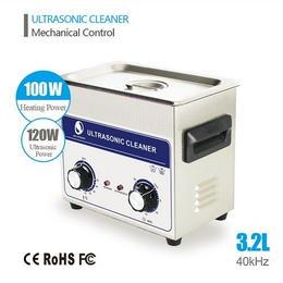 強力超音波クリーナー3.2L 120W 超音波洗浄器 機械式制御 業務用◇SKYMEN◇