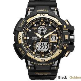 メンズスポーツ腕時計 海外トップブランド デジタルデュアルタイム 30m防水 ファッション ミリタリー