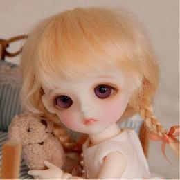 球体関節人形 小さい 通販 16cm かわいい 女の子 リアル 女 ドール 綺麗 美しい カスタムドール 幼SD お迎え ミニ スーパードルフィー