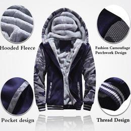 Fortnite パーカー  スウェット 厚みのフリース 迷彩ジャケット カジュアル ジッパー フード付 大きいサイズ 米国サイズ