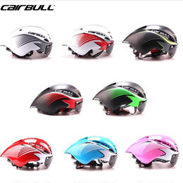 sCairbull エアロヘルメット 男女兼用 シールド取り外し可能 ゴーグル付き フリーサイズ 全8種類 大人用 トライアスロン ロードバイク